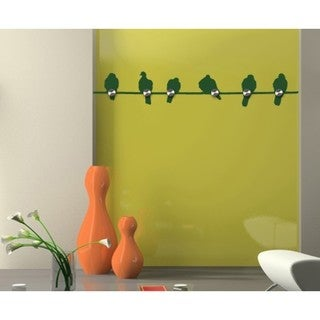 Bird Stick Wall Hanger Decal Vinyl Art Home Decor