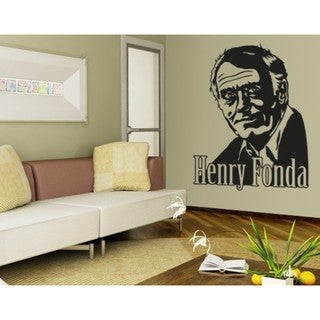Henry Fonda Wall Decal Vinyl Art Home Decor
