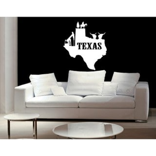 Texas Wall Decal Vinyl Art Home Decor