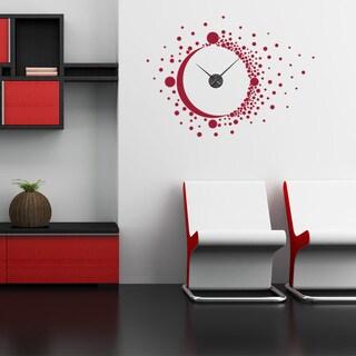 Big Bang Wall Clock Vinyl Decor Wall Art