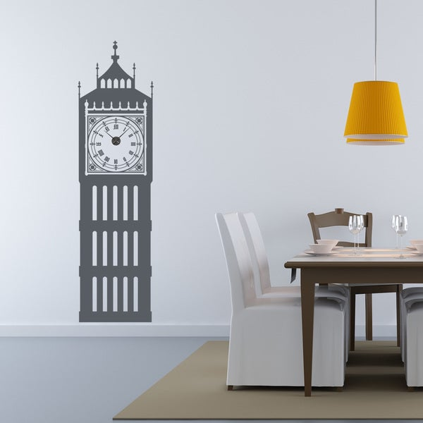 Big Ben Wall Clock Vinyl Decor Wall Art