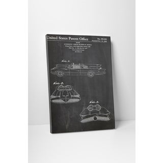 Patent Prints 'George Barris Custom Cars' Gallery Wrapped Canvas Wall Art