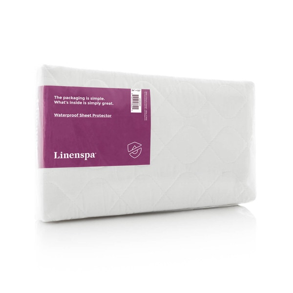 LINENSPA Waterproof Sheet and Mattress Protector Pad