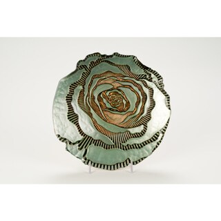 Rose Gold Turquoise Side Plate