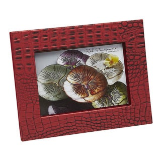 Crock 5x7-inch Coral Red Photo Frame