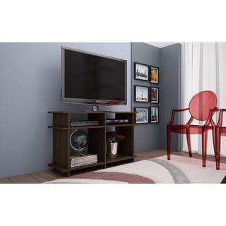 Accentuations by Manhattan Comfort Suitable Wellington 4-shelf TV Stand