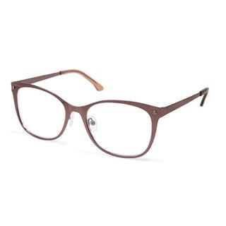 Cynthia Rowley Eyewear CR5006 No. 87 Bronze Fade Square Metal Eyeglasses