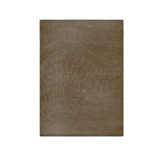 M.A.Trading Hand-Tufted Indo Terraza Cafe Latte Rug (5'6 x 7'10)