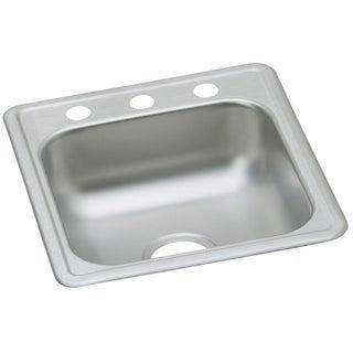Elkay Dayton Drop In Steel D117191 Stainless Steel Kitchen Sink