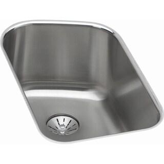 Elkay Harmony Undermount Steel ELUH11189PD Stainless Steel Kitchen Sink