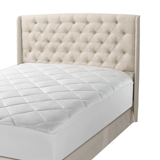 Luxurious 300 Thread Count Cotton Fitted Mattress Pad