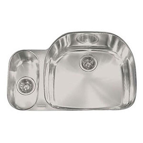 Franke Prestige Undermount Steel PRX160LH Stainless Steel Kitchen Sink