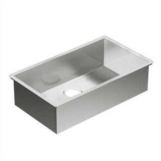 Moen 1800 Series Undermount Steel G18180 Stainless Steel Kitchen Sink