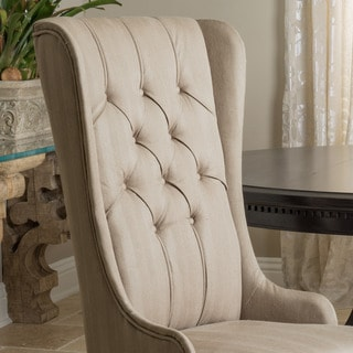Christopher Knight Home Champion Tufted Fabric Dining Chair