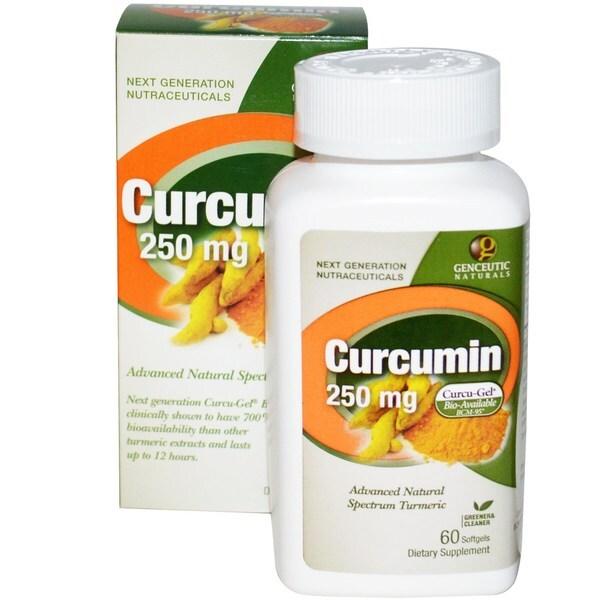 Genceutic Naturals Curcumin (60 Softgels)