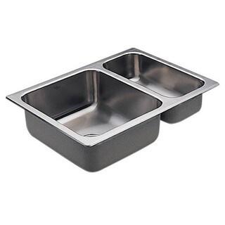 Moen Drop In Steel G202720 Stainless Kitchen Sink