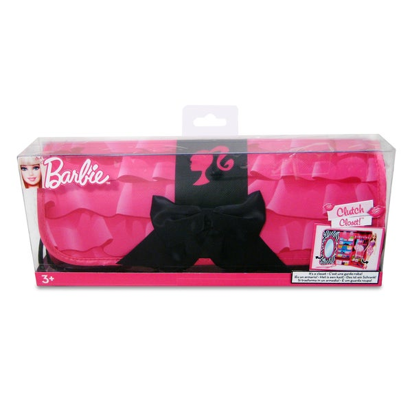 Neat-Oh Barbie Black Bow Clutch and Closet