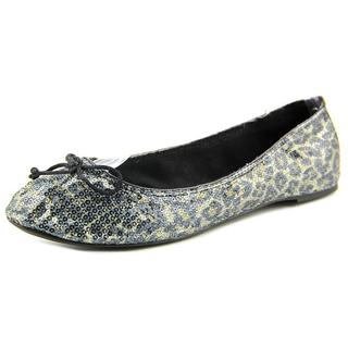 French Follies Women's 'Edie' Black Basic Textile Casual Shoes