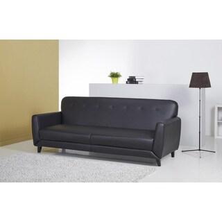 Glendale Black Convertible Sofa Bed