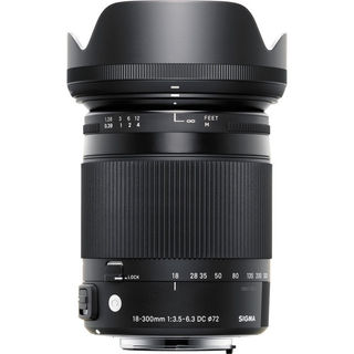 Sigma 18-300mm f/3.5-6.3 DC MACRO for Canon EF