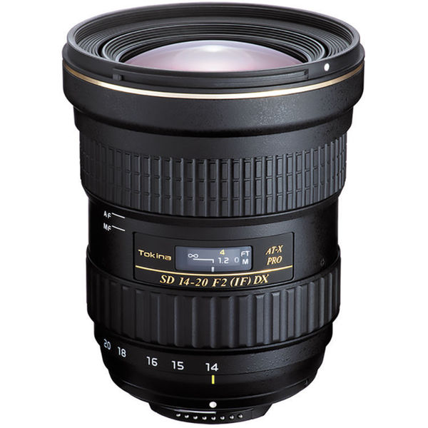 Tokina AT-X 14-20mm f/2 PRO DX Lens for Nikon F