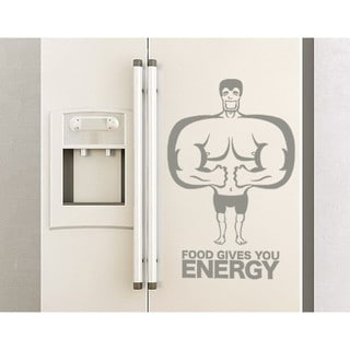 Energy Food Wall Decal