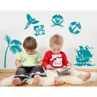 Pirate Set Wall Decal