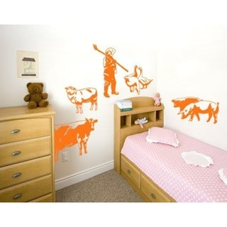 Farm Set Wall Decal