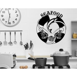 Seafood Wall Decal