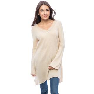 Dolores Piscotta Women's Cotton Pull-over Mini Dress/Tunic