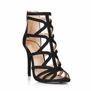 Mark and Maddux Oscar-06 Cut-out Style Women's High Heel Sandals