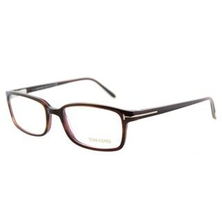 Tom Ford FT 5209 047 Tortoise Plastic Eyeglasses 53mm