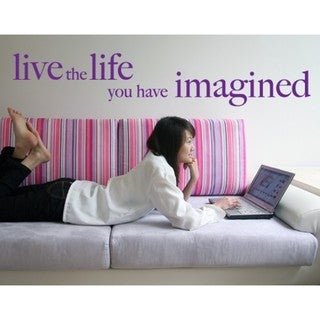 Live The Life Wall Decal