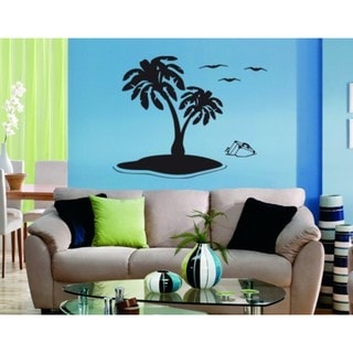 Lonely Island Wall Decal