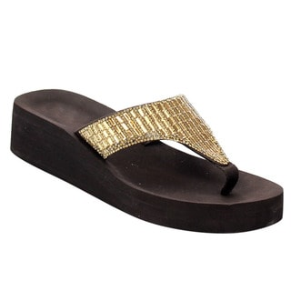 Flip Flop Thong Wedges
