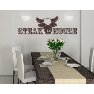 Steak House Wall Decal