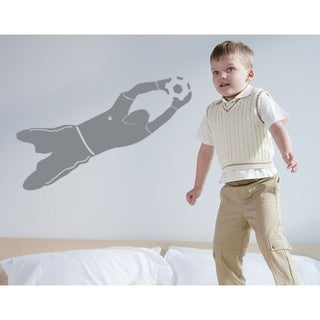 Goal Keeper Wall Decal