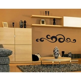 Waved Ornament Wall Decal