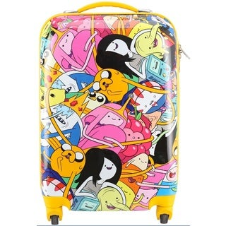 Adventure Time Crew 26-inch Expandable Hardside Spinner Upright Suitcase