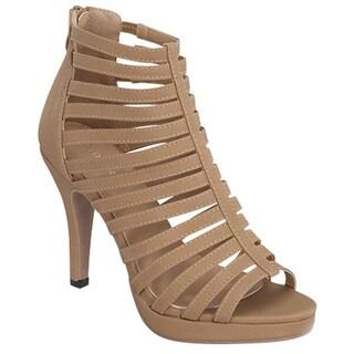 Gladiator Heeled Sandals