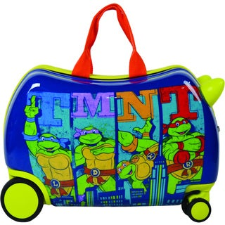 TMNT Cruizer Graphic Ride-On 16-inch Hardside Rolling Suitcase
