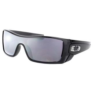 oakley liv replacement lenses f6x3  Oakley OO 9101 910101 Batwolf Black Ink Plastic Sport Sunglasses Black  Iridium Lens