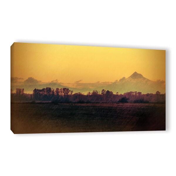 ArtWall Don Schwartz's 'Quiet Autumn Morning ' Gallery Wrapped Canvas