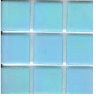 Brio Pearl Aqua 3/4 Inch Mosaic