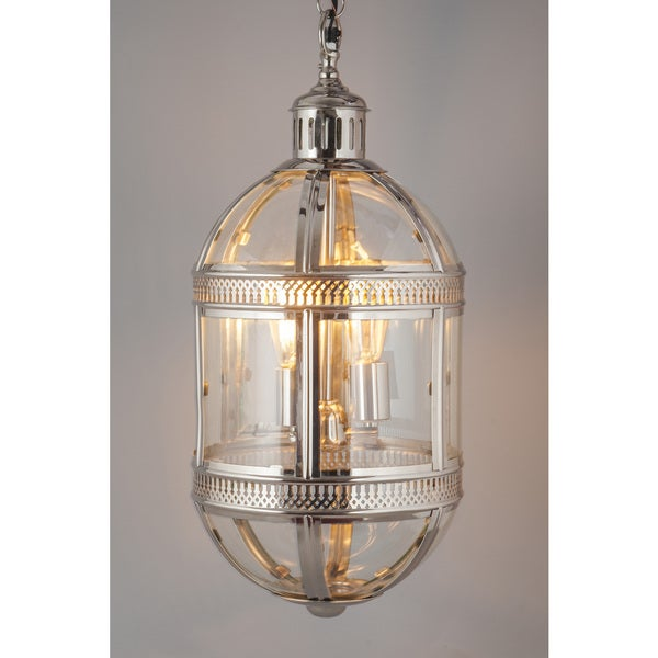 Madrid Capsule Hanging Lamp Nickel