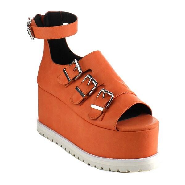 Ankle Strap Flatform Sandals