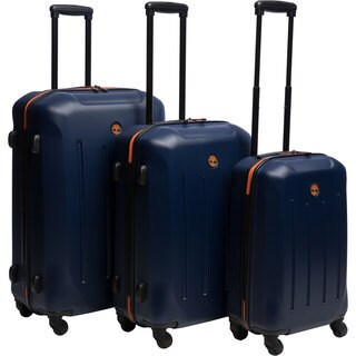 Timberland Gilmanton 3-piece Hardside Spinner Luggage Set