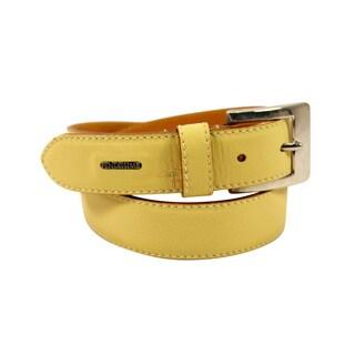 Fendissime Beige Leather Women's 30-inch Belt