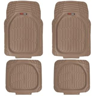 MotorTrend FlexTough Tortoise Heavy-duty Rubber Floor Mats