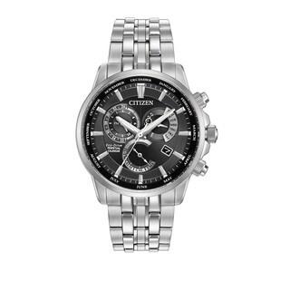Citizen Men's BL8140-55E Calibre 8700 Black Dial Silvertone Stainless Steel Watch